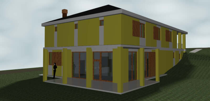 Školka a bydlení v jednom domě