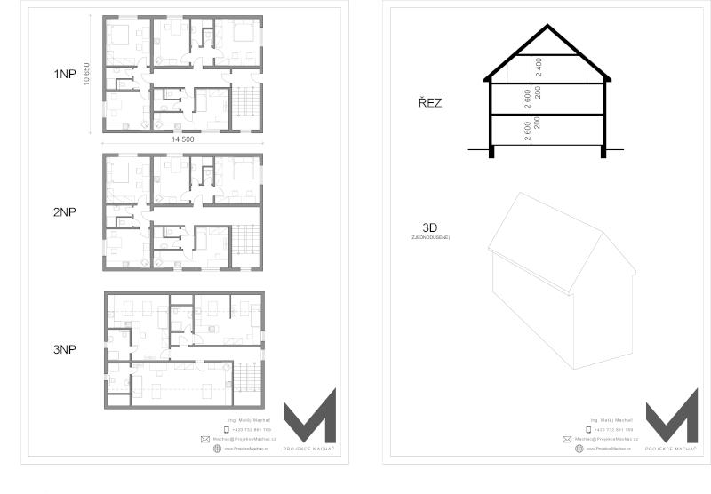 Studie bytového domu