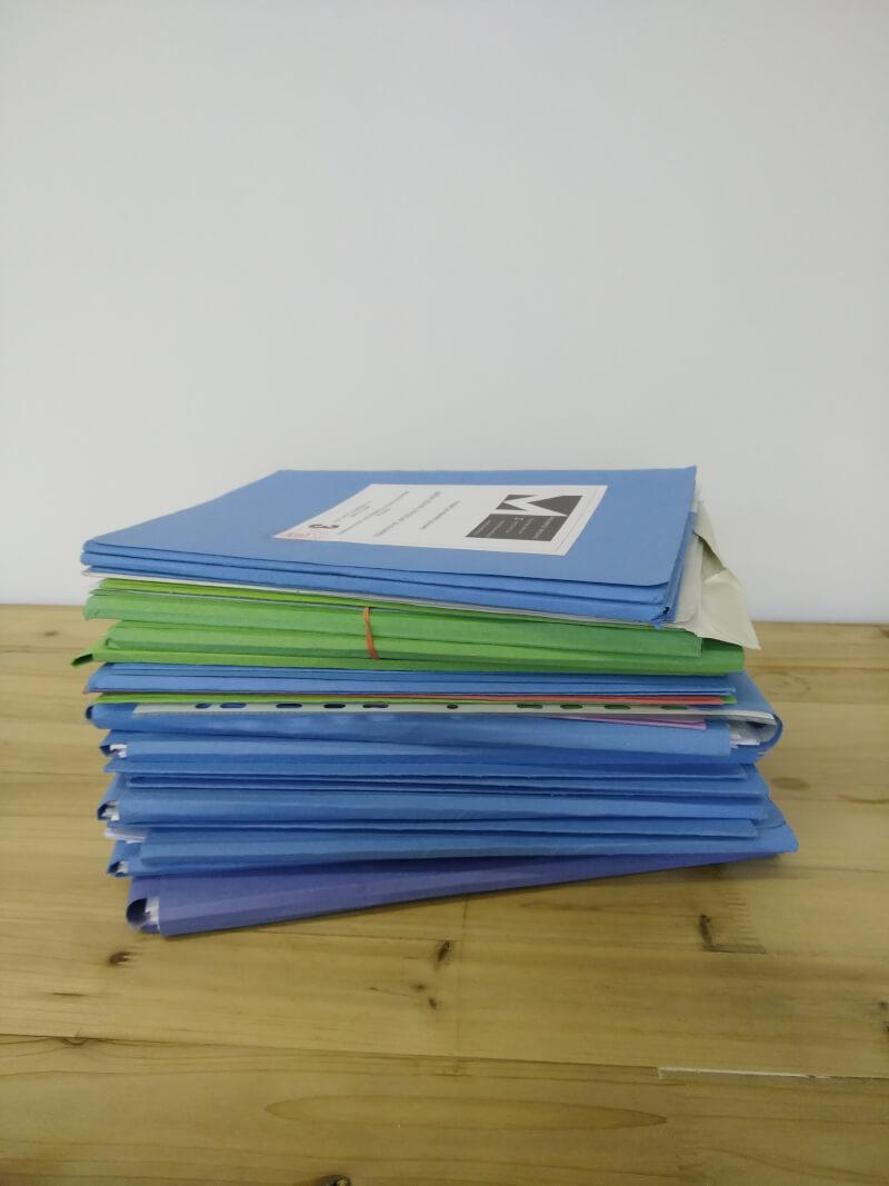 Pro stavební povolení je zapotřebí mnoho dokumentů.