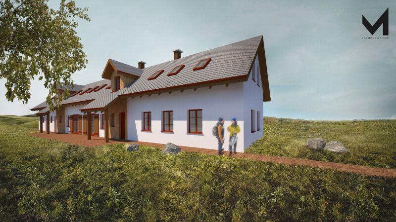 Stavební úpravy rekreačního domu