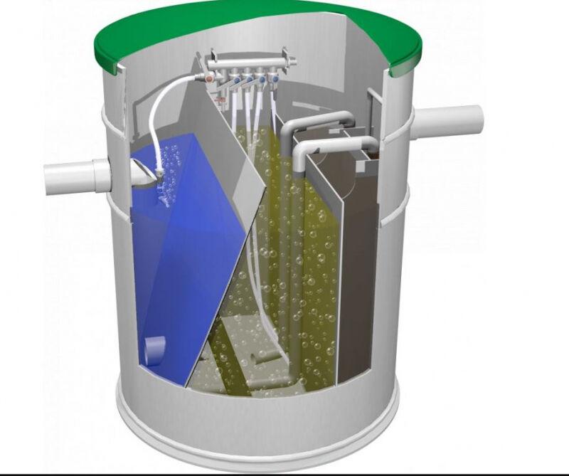 Projekt čističky odpadních vod a kolik stojí